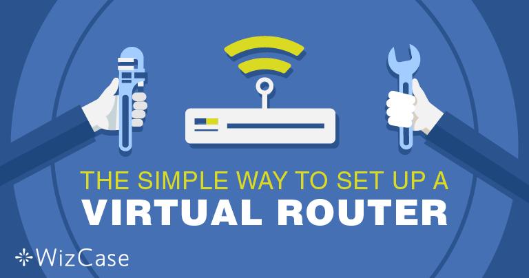 Virtuális router telepítése a Windows-ra, egy VPN-nel