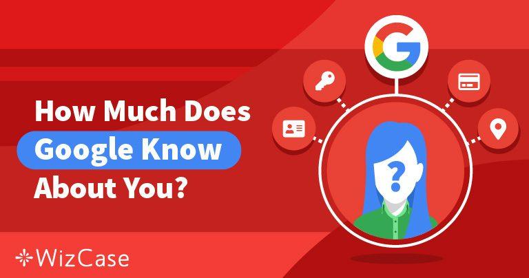 Menedzselje az adatvédelmét: Mit tud a Google Önről & Ön mit tehet ezügyben Wizcase