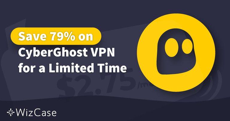 Érvényes 2020-as CyberGhost VPN kupon: Ma akár 79%-ot is megtakaríthat